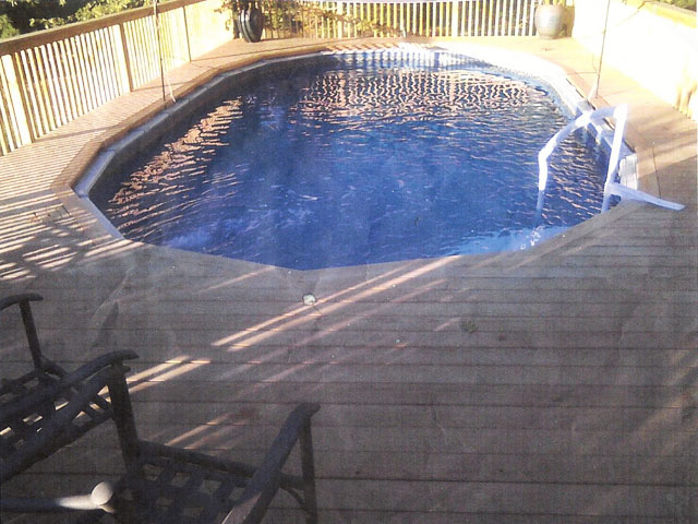 We install the highest quality above ground pools or semi for Installing pool liner in cold weather