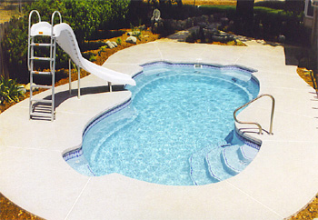 fiber glass pool dec5 Fiberglass In Ground Pools